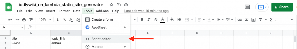 You can generate nifty webhooks in Gsheets with a simple script.
