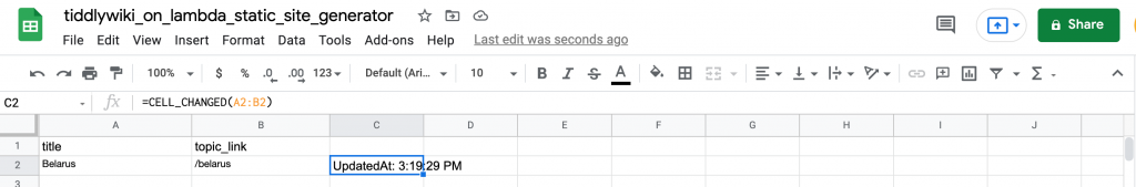 Send a webhook from Gsheets by calling a small script in the script editor, and referencing the columns you want from that row.