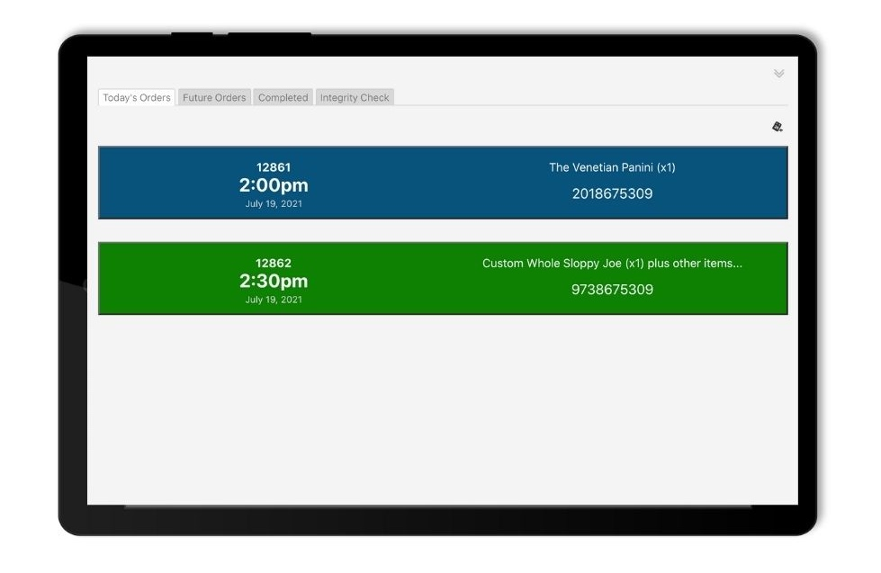 Built with TiddlyWiki, this WooCommerce Order Dashboard neatly presents incoming Orders for the deli staff to review and fulfill. The app is available free on Github.