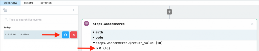 WooCommerce API response when calling with the Order Number.