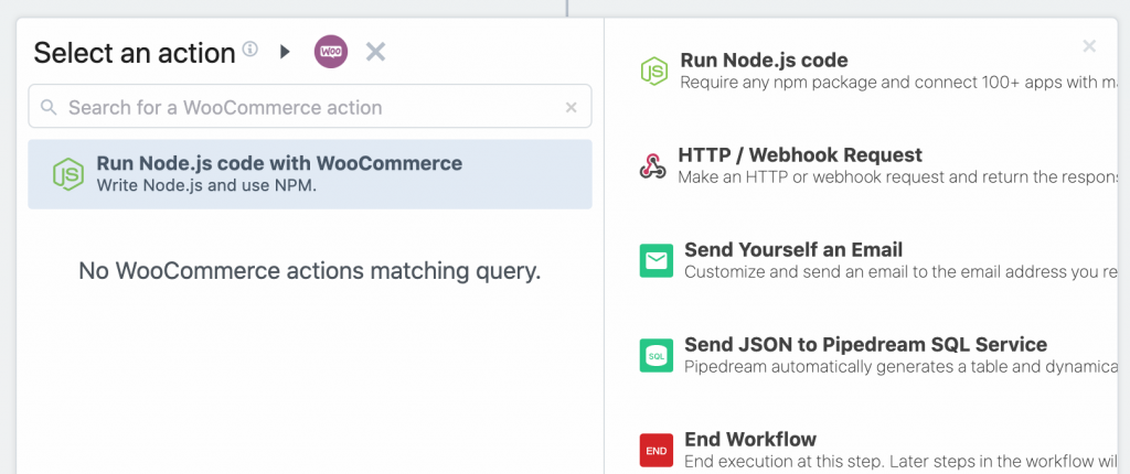 Calling the WooCommerce API with Nodejs.